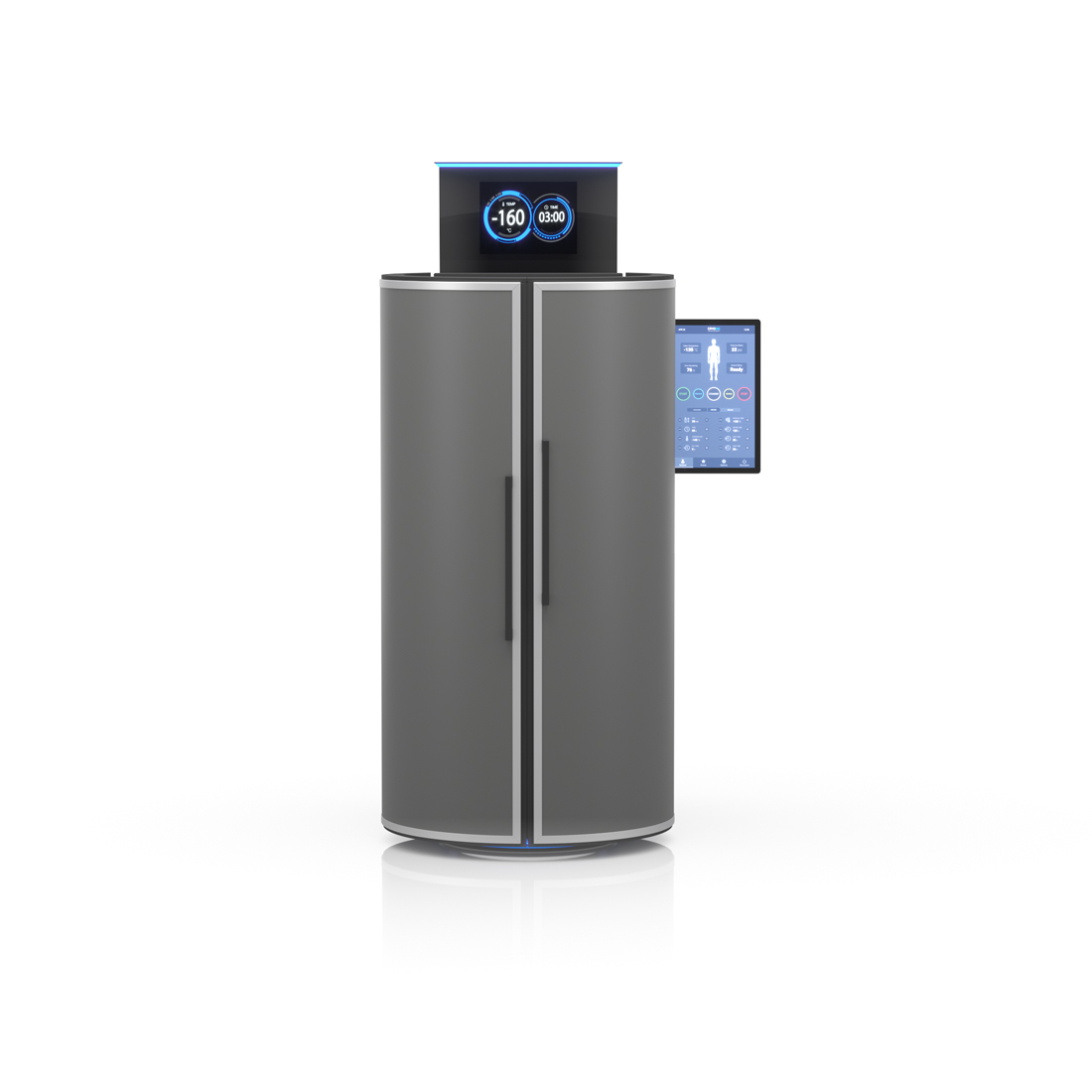 CRYO XC™ Cryocabin in anthracite gray