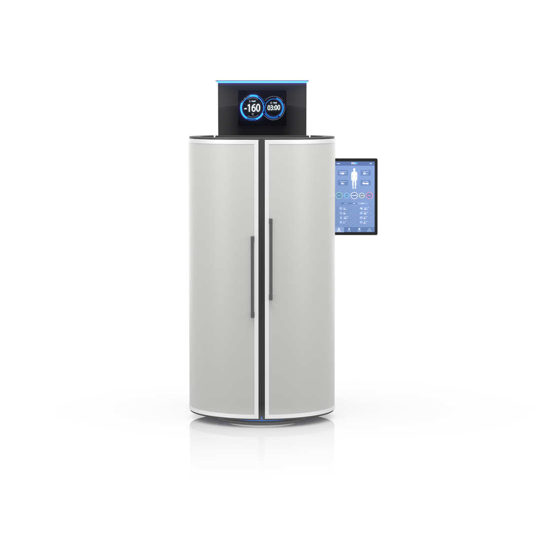 CRYO XC™ Cryotherapy unit in gray