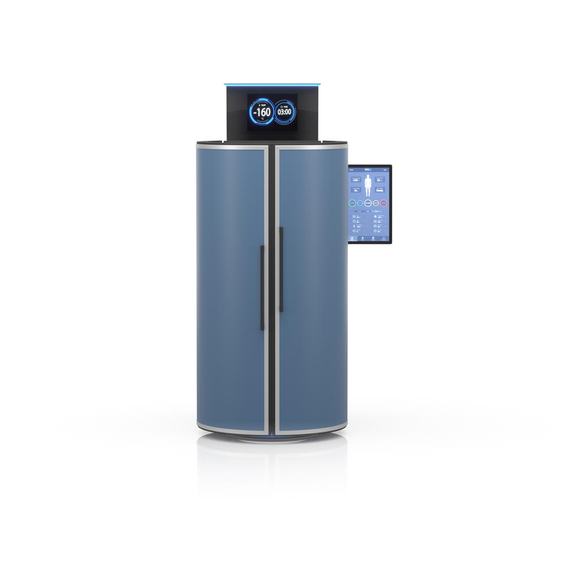 CRYO XC™ Cryo machine in blue