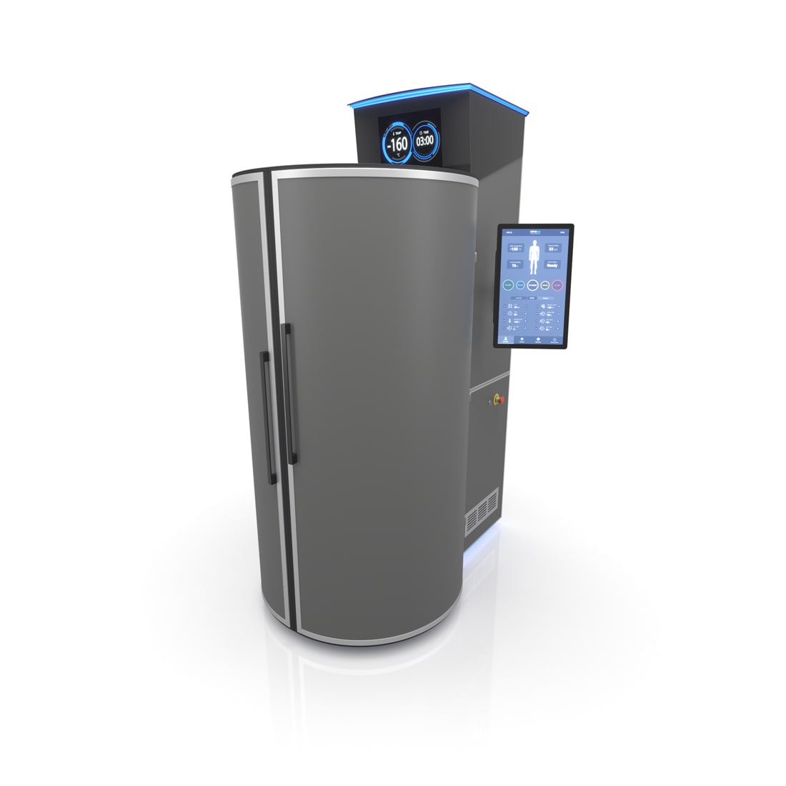 CRYONiQ cryotherapy chamber right orientation