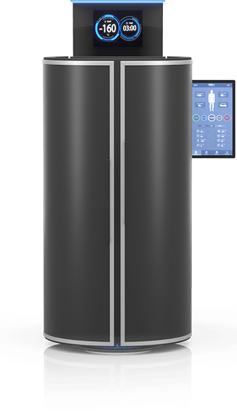 CRYO XC™ Plus cryotherapy chamber in black