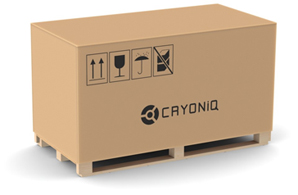 CRYO XC™ packaging larger crate