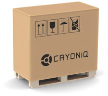 CRYO XC™ packaging smaller crate