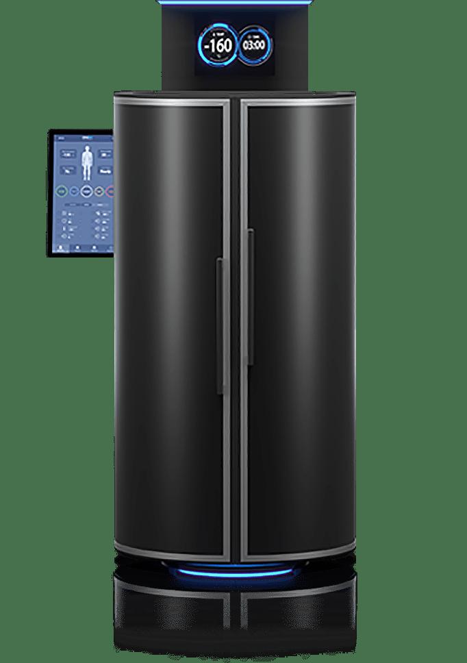 Cryogenic chamber CRYO XC™ transparent