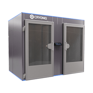 Electric cryochamber and cryotherapy machine