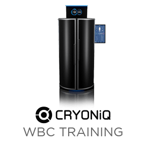 Cryotherapy equipment training by CRYONiQ technician